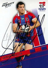 Signed 2012 NEWCASTLE KNIGHTS NRL Card KADE SNOWDEN