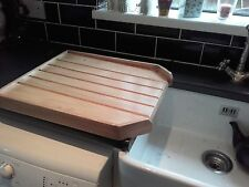 BELFAST SINK DRAINING BOARD DRAINER OLD SCHOOL VARNISHED PINE
