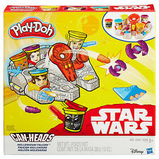 Disney Star Wars B0002 - Play-Doh Millennium Falcom Featuring Can-Heads - Hasbro