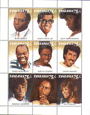 Tanzania 1992 MUSIC/Entertainers/People 9v sht (n13221)