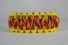 550 Paracord Survival Bracelet King Cobra Yellow/Phonix Sunrise Camping Tactical