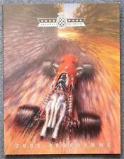 Goodwood festival de course de vitesse réunion PROGRAMME OFFICIEL 2001