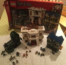 LEGO 10217 • Harry Potter • Diagon Alley, All 12 Figs • 100% Complete Guarantee