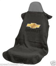 Seat Armour SA100CHVB Black Chevrolet Seat Cover Bowtie Logo New Free Shipping