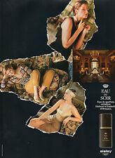 Publicité Advertising 1990  Parfum EAU DU SOIR  SISLEY