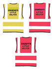 Hi Vis Kids Vest Novelty Printed High Viz Visibility Childs Little Helper