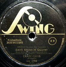 1093/Dave Brubeck Quartet-Crazy Chris-STILL Loves Me-Modern Jazz Gomma lacca