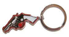 Andy Warhol by Troika Keyring 12th Limited Edition GUN Design GIFT BOXED