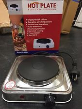 Brand New Single Portable Electric Hot Plate - Stovetop Cooker One Grill