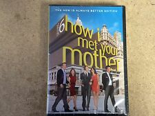 DVD TV NEW * HOW I MET YOUR MOTHER SEASON 6