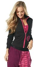 Zumba One Love Zip Up Cardigan Jacket Medium NEW