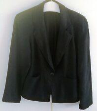 Betty Barclay Jacke Kostüm Jacket Gr. 36 Blazer schwarz  - TOP Zustand -