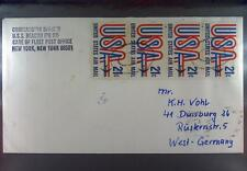 USS Beacon (PG 99) 1974 Navy Sea Post Schiffspost Ship (U83)