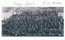 Band of Brothers Ralph Spina WWII Medic 101st AB, D-Day Silver Star SIGNED PHOTO