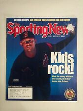 August 27 2001 The Sporting News  C.C. Sabathia  Indians