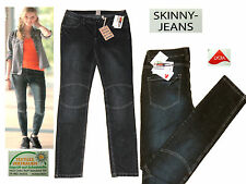 Ladies Stretch Jeans Skinny Trousers Tube Size 42 32/32 black