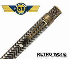 Retro 51 Metal Smith Series #VRR-1335 / Roosevelt Rollerball Tornado Pen