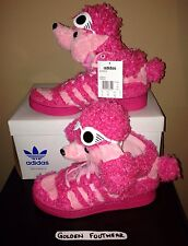 2013 ADIDAS OBYO X JEREMY SCOTT POODLE ORIGINALS BOOTS JS PINK WINGS UK 8