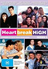 Heartbreak High : Series 2 (DVD, 2012, 8-Disc Set) - NEW - Alex Dimitriades