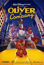 "Walt Disney's OLIVER AND COMPANY RR1996 DS 2 Sided 27x40"" Movie Poster"