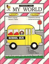 Teacher Created Materials Thematic Unit 252 MY WORLD Early Childhood Homeschool