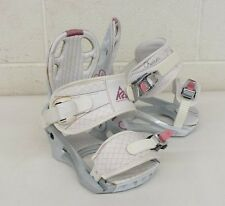 K2 Charm High-Quality Snowboard Bindings Women's Small NO BASE PLATES EXCELLENT
