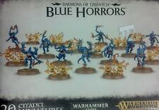 Warhammer 40K & Age of Sigmar, Daemons of Tzeentch BLUE HORRORS (20) New Sealed