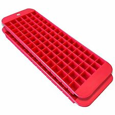 Cubette Mini Ice Cube Trays, Set of 2 Red New