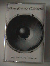 "KINGDOM COME ""IN YOUR FACE"" CHROME CASSETTE 1989 GERMAN LED ZEPPELIN"