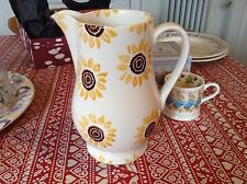 Emma Bridgewater Waitrose Sunflowers Water Jug Discontinued New