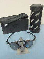OAKLEY mens MADMAN *pewter/black iridium polarized* OO6019-02 ~NEW IN BOX~!