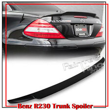 Painted Mercedes BENZ SL-Class R230 V Trunk Spoiler SL500 SL63AMG 03-11