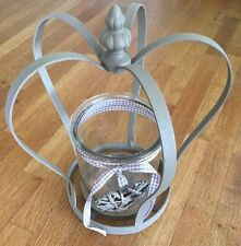 Vintage Style Crown Tea Light Candle Holder Wedding Christmas Centrepiece large
