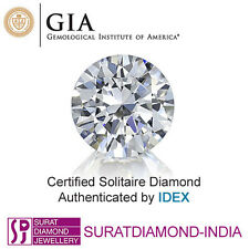 GIA Certified 0.40 Carat H VVS2 Round Cut Natural Loose Diamond 118458298