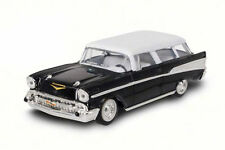 New 1/43 Diecast Black 1957 Chevrolet/ Chevy Nomad for MTH, Lionel & K-Line