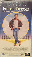 Field of Dreams VHS Kevin Costner © 1989 Universal PG Baseball Fantasy Like New