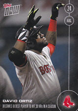2016 Topps NOW 389-A David Ortiz Red Sox Oldest Player Aug 24 ONLY 2394 Printed