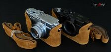 LUIGI TENDERLY CASE+STRAP FOR LEICA M3 OLD BUDDHA EARS LUGS,classic RARE MP,MP3!