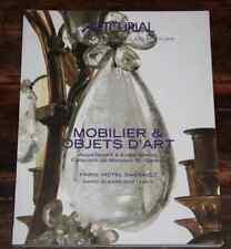 CATALOGUE VENTE 2007 MOBILIER OBJETS ART ANDRE METROT Coll Mr B Genève résultats