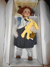 "Kingstate The Dollcrafter LOLA 20"" Bisque Porcelain Doll COA Prestige Collection"