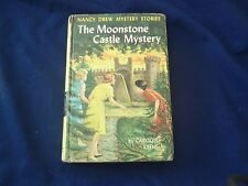Nancy Drew The Moonstone Castle Mystery #40  by Carolyn Keene  1963