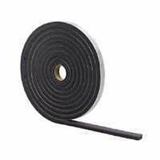 """NEW M-D 02097 GRAY FOAM WEATHER STRIPPING TAPE SELF ADHESIVE 1/2"""" X 3/8"""" 17 FT"""