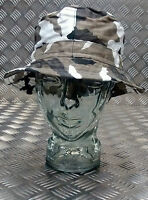 Military Style Special Forces Boonie Hat / Bush hat Short Brim Urban Camo NEW