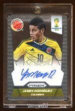 2014 PRIZM FIFA WORLD CUP JAMES RODRIGUEZ AUTO AUTOGRAPH SP  MINT  COLOMBIA STAR