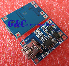 2PCS 5V MINI USB 1A Lithium Battery Charging + Protection  Module M61