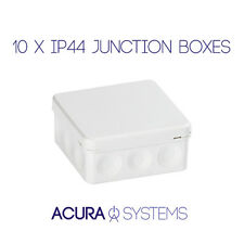 10 x Waterproof Junction Boxes Box Outdoor CCTV/Electrical Enclosure 80x80x50mm