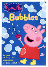 Peppa Pig: Bubbles (DVD) EXCELLENT CONDITION SHIPS NEXT DAY COMPLETE