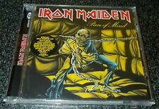 IRON MAIDEN-PIECE OF MIND-REMASTERED ENHANCED EU CD 1998-NEW & SEALED