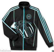 RARE~Adidas TRON LEGACY LIGHT CYCLE JACKET wars Track Sweat Shirt star~YOUTH Lrg