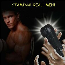 Adult Male Masturbation Silicone Cup Vibrating Mouth Sexual Wellness Penis R18+